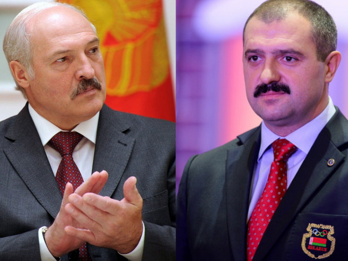 Александр и Виктор Лукашенко