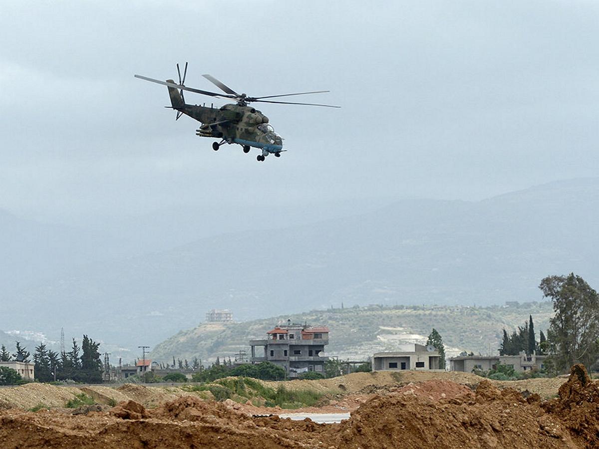 Вертолёт ВКС РФ Ми-35 потерпел крушение в Сирии: Минобороны дали комментарий