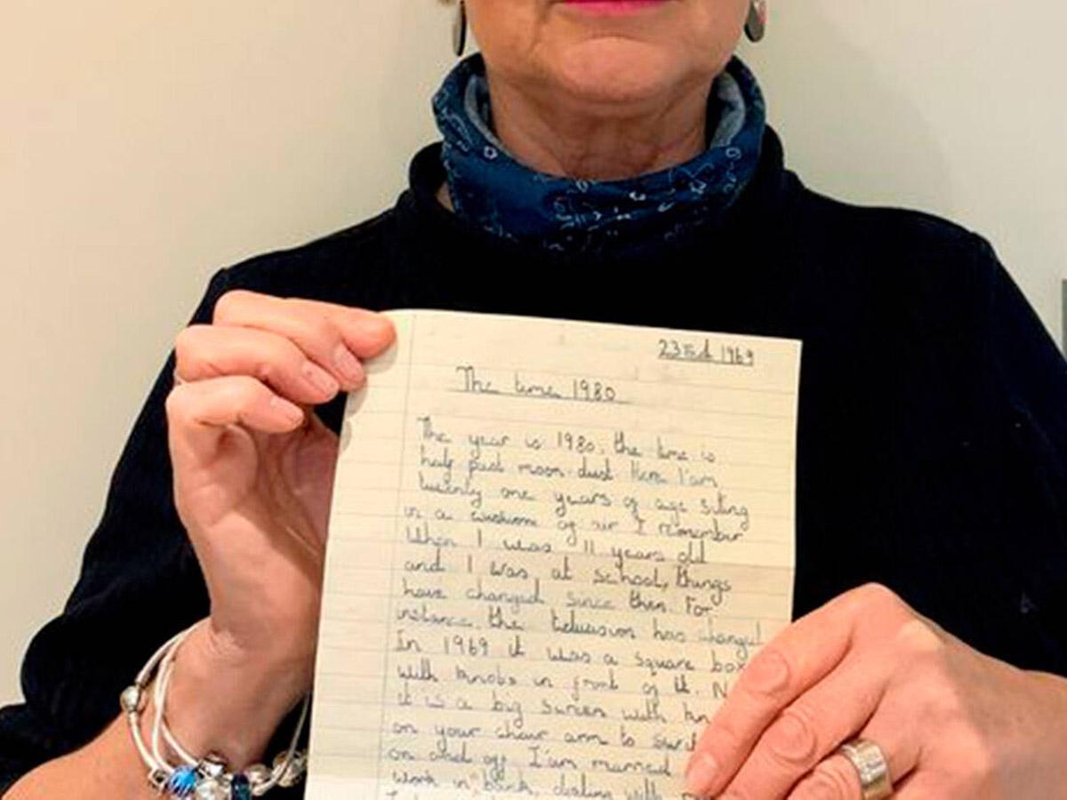 Мужчина нашел письмо изпрошлого спугающе точными предсказаниями