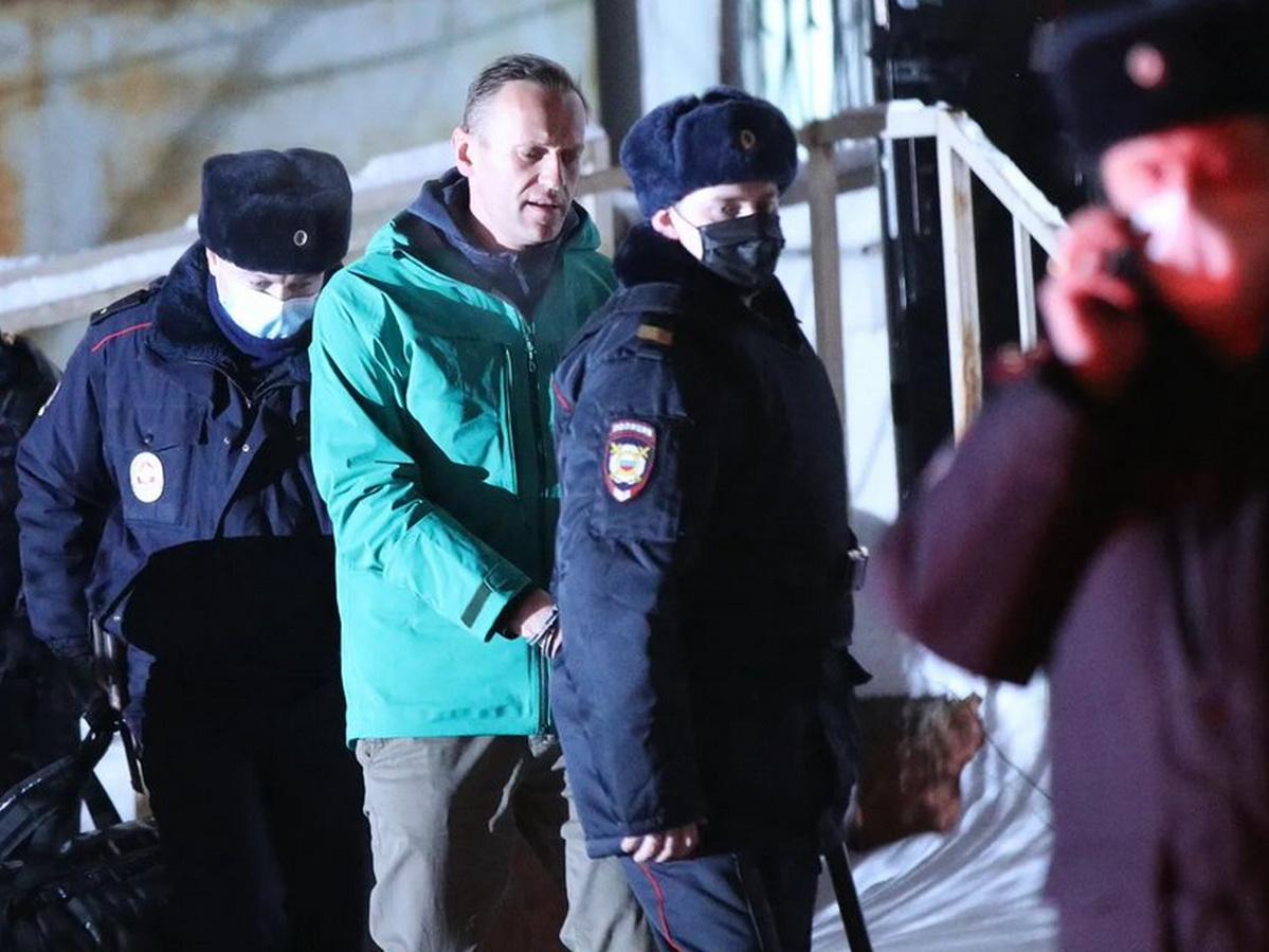 Навальный этапирован во Владимирскую область