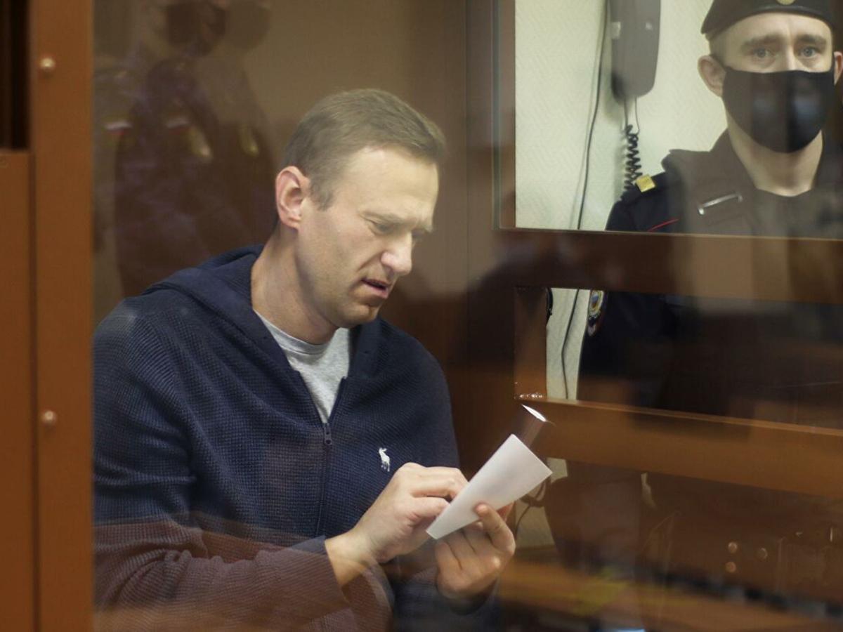 Заседание суда по делу Алексея Навального