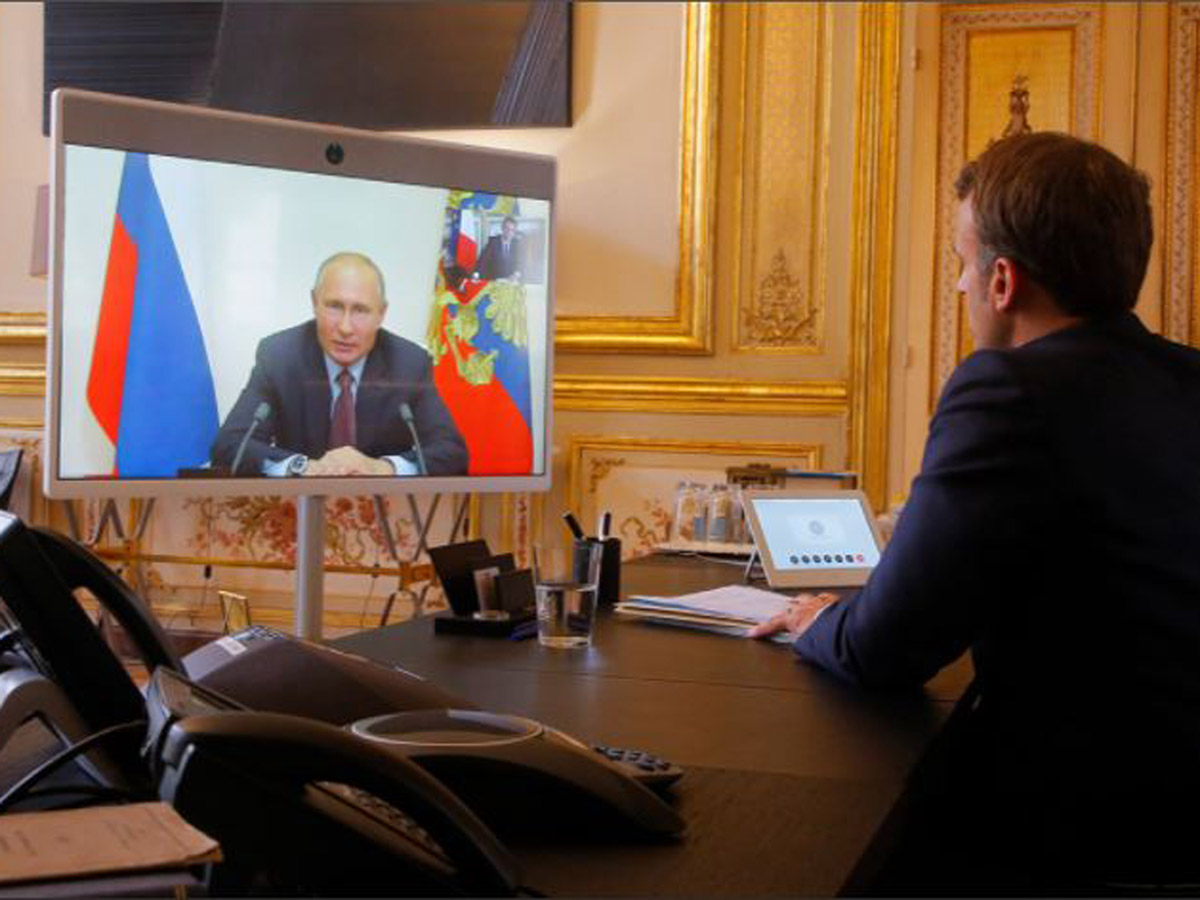 Путин рассказал об отказе Макрона в сотрудничестве по делу Навального