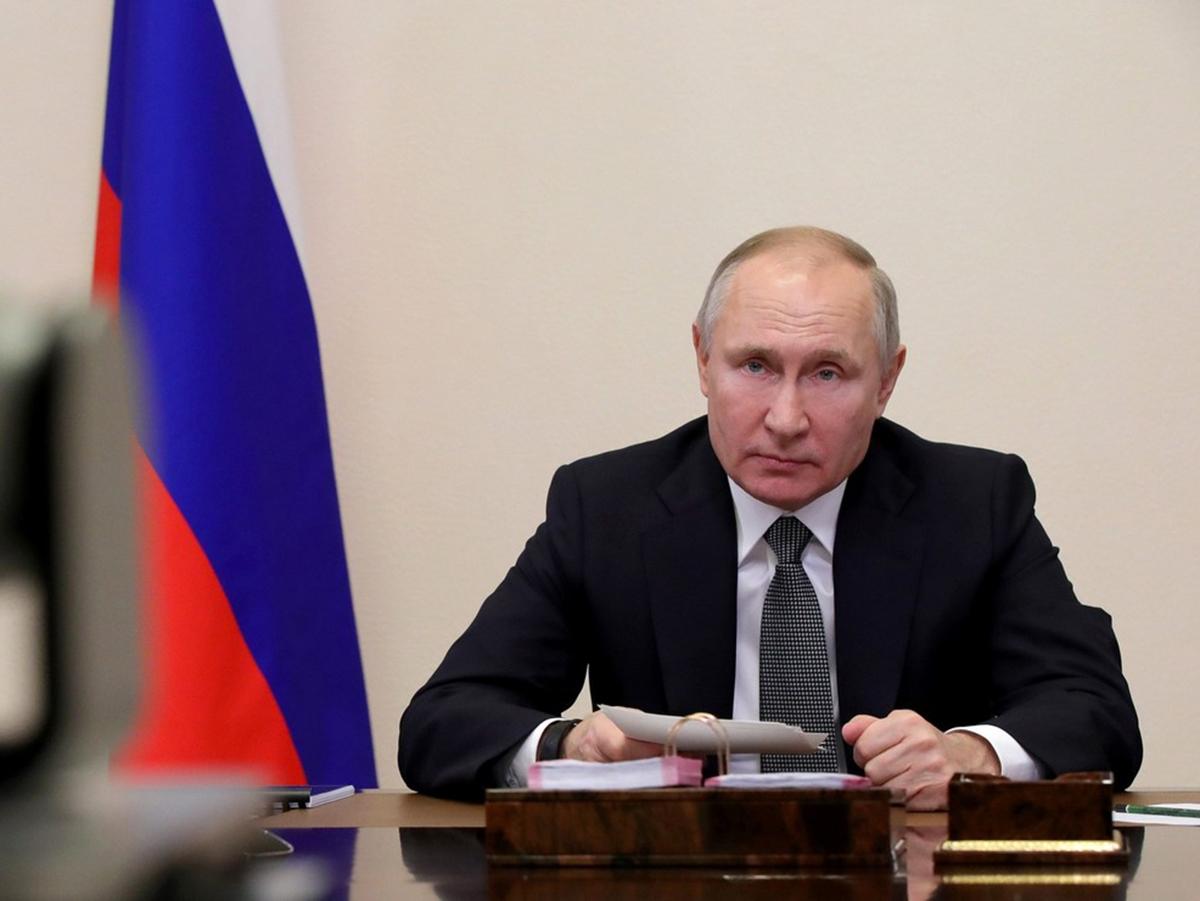 """""""Вы чего, не помните, как меня рисовали?"""": Путин высказался о присоединении Донбасса, акциях протеста и противниках РФ (ВИДЕО)"""