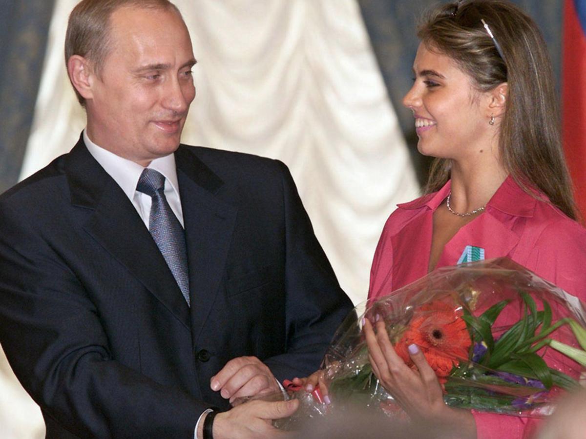 Владимир Путин Алина Кабаева