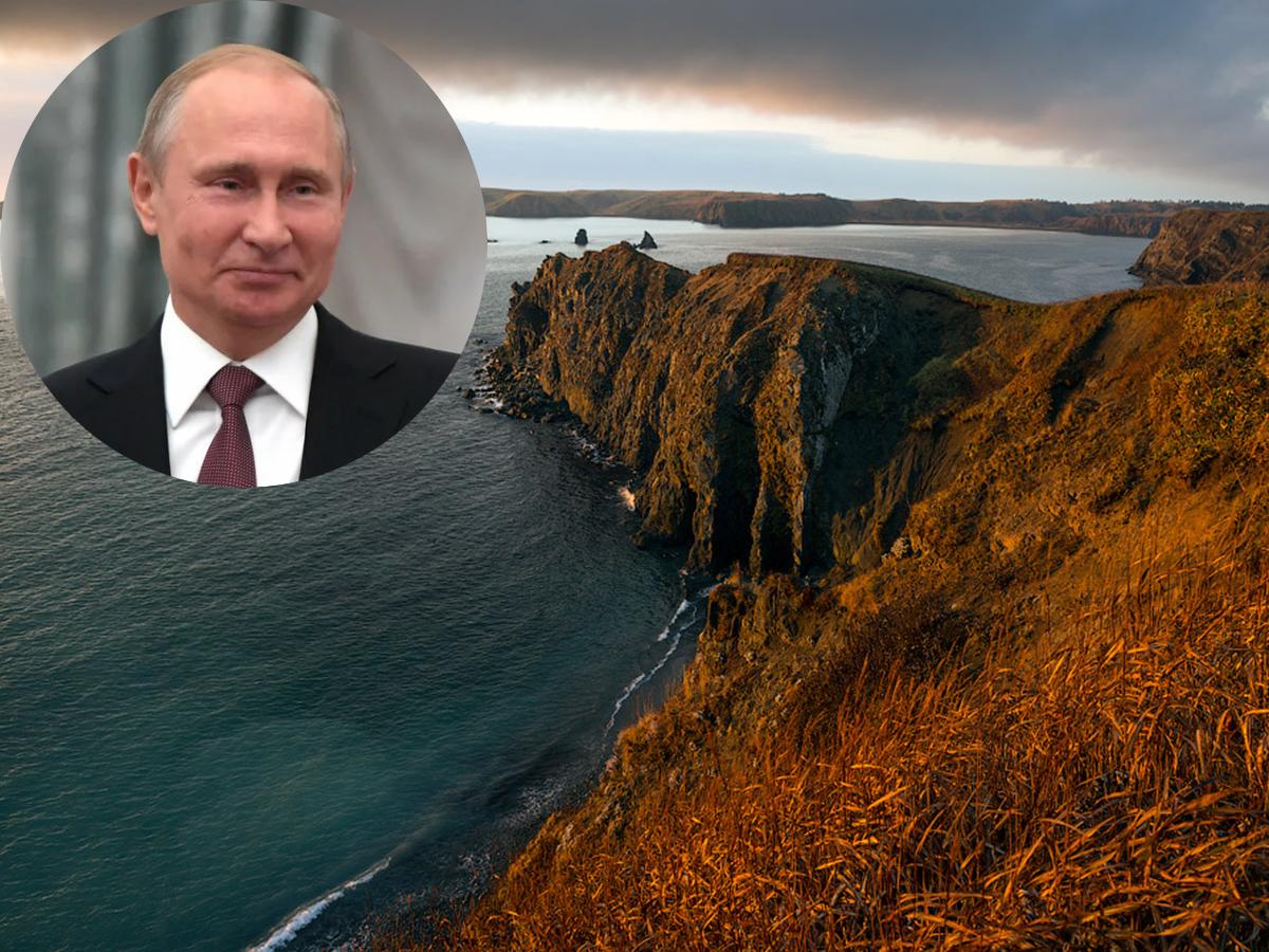 Путин Курильские острова