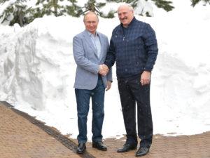 Путин Лукашенко в Сочи
