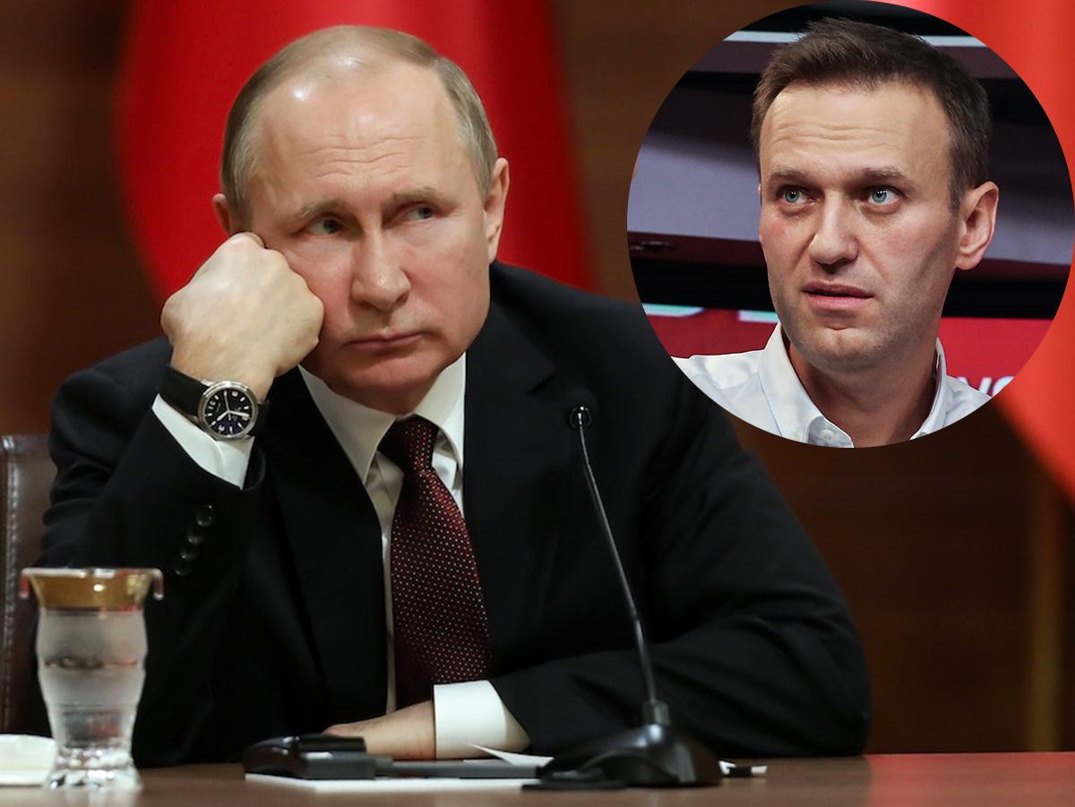 Путин Навальный