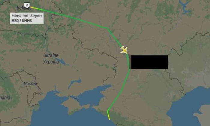 Самолет Лукашенко не пустили в воздушное пространство Украины