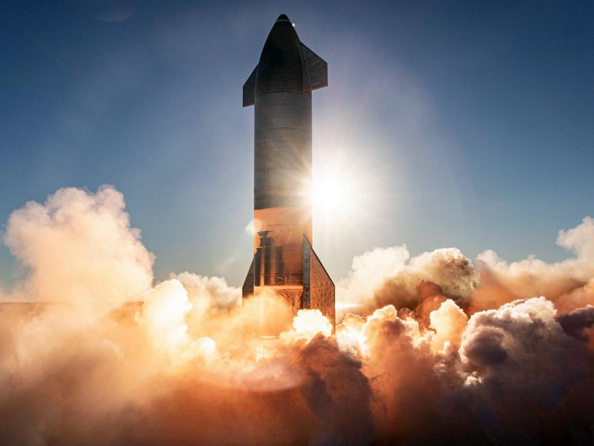 Видео взрыва прототипа корабля Starship собрало более 100 тыс. просмотров