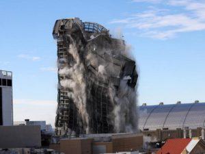 39-этажный символ бизнес-империи Трампа взорвали в Америке