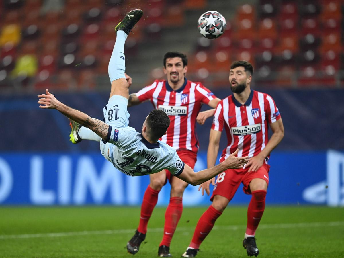Удивительный гол решил исход матча «Атлетико» с «Челси» и попал на видео