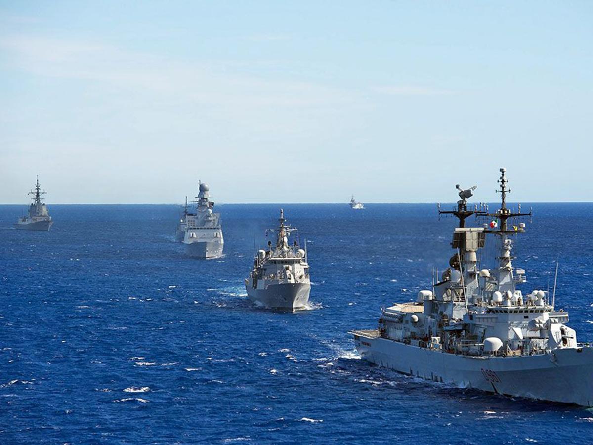 Россия бросила на перехват четырёх кораблей НАТО корабли ЧМФ