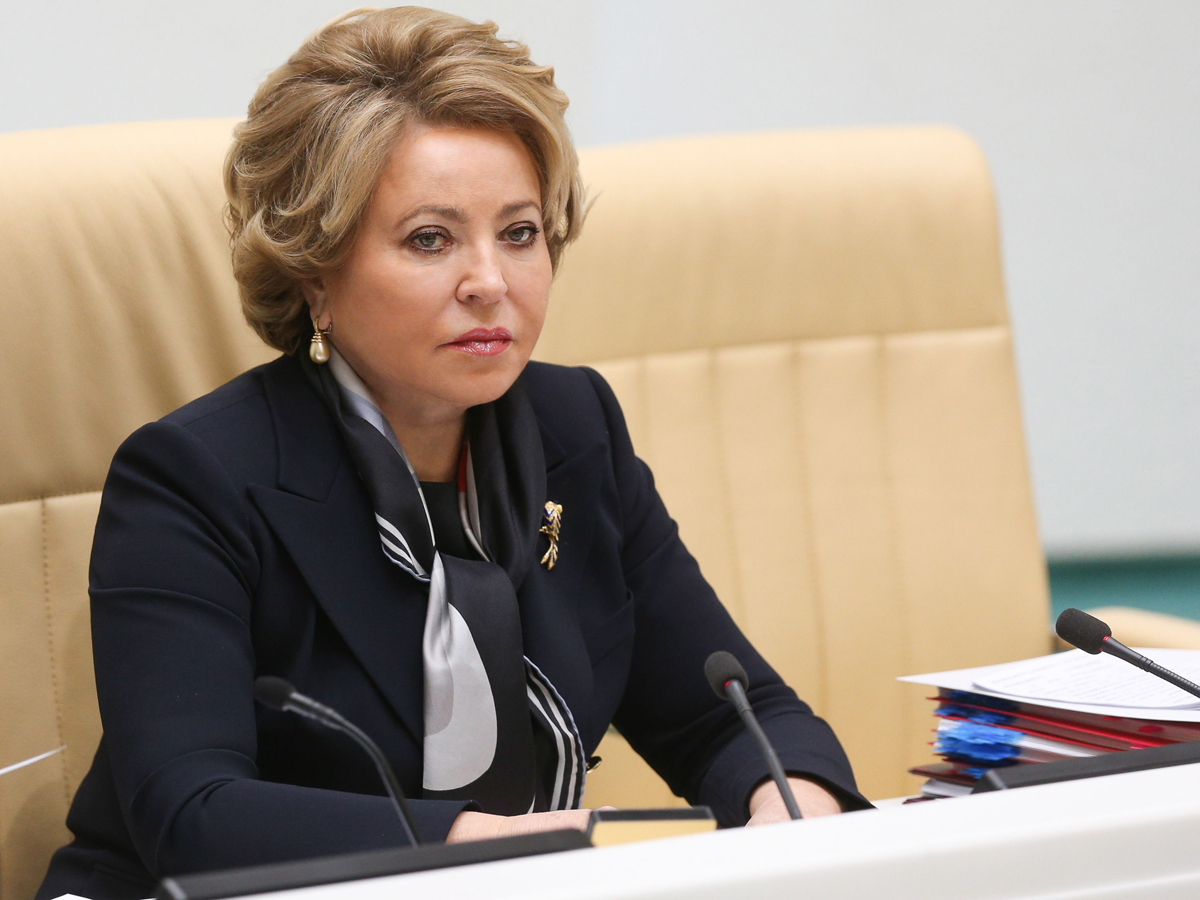 Валентина Матвиенко назвал реальный размер своей пенсии