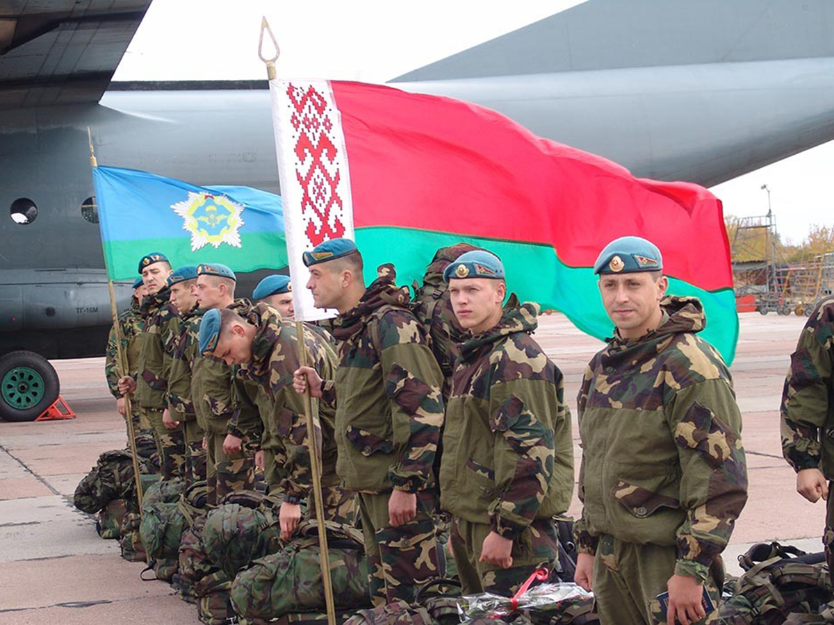 Военные Белоруссии
