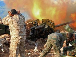 Удар в Сирии