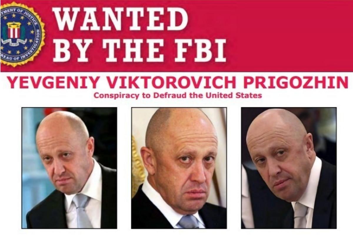 За информацию о бизнесмене Пригожине ФБР назначило награду в $250 тысяч