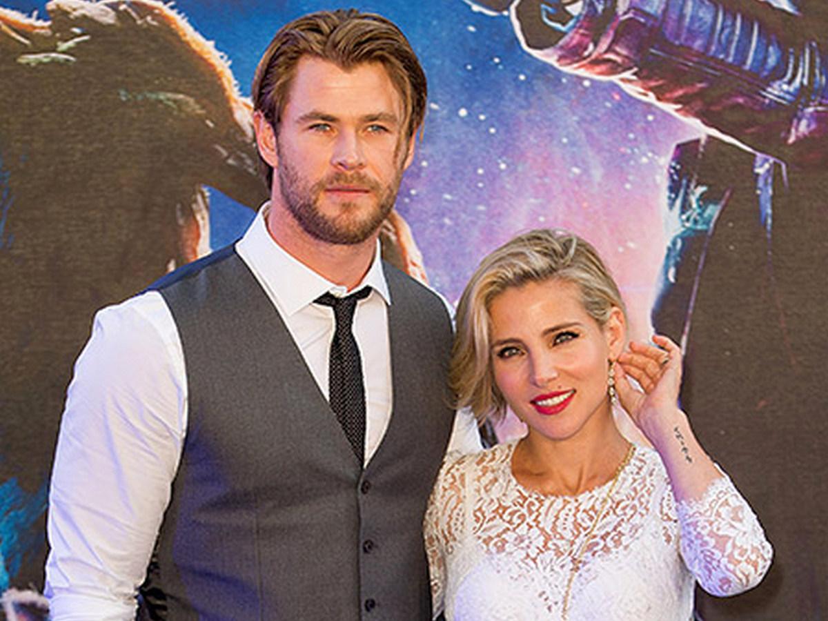 Крис Хемсворт с женой