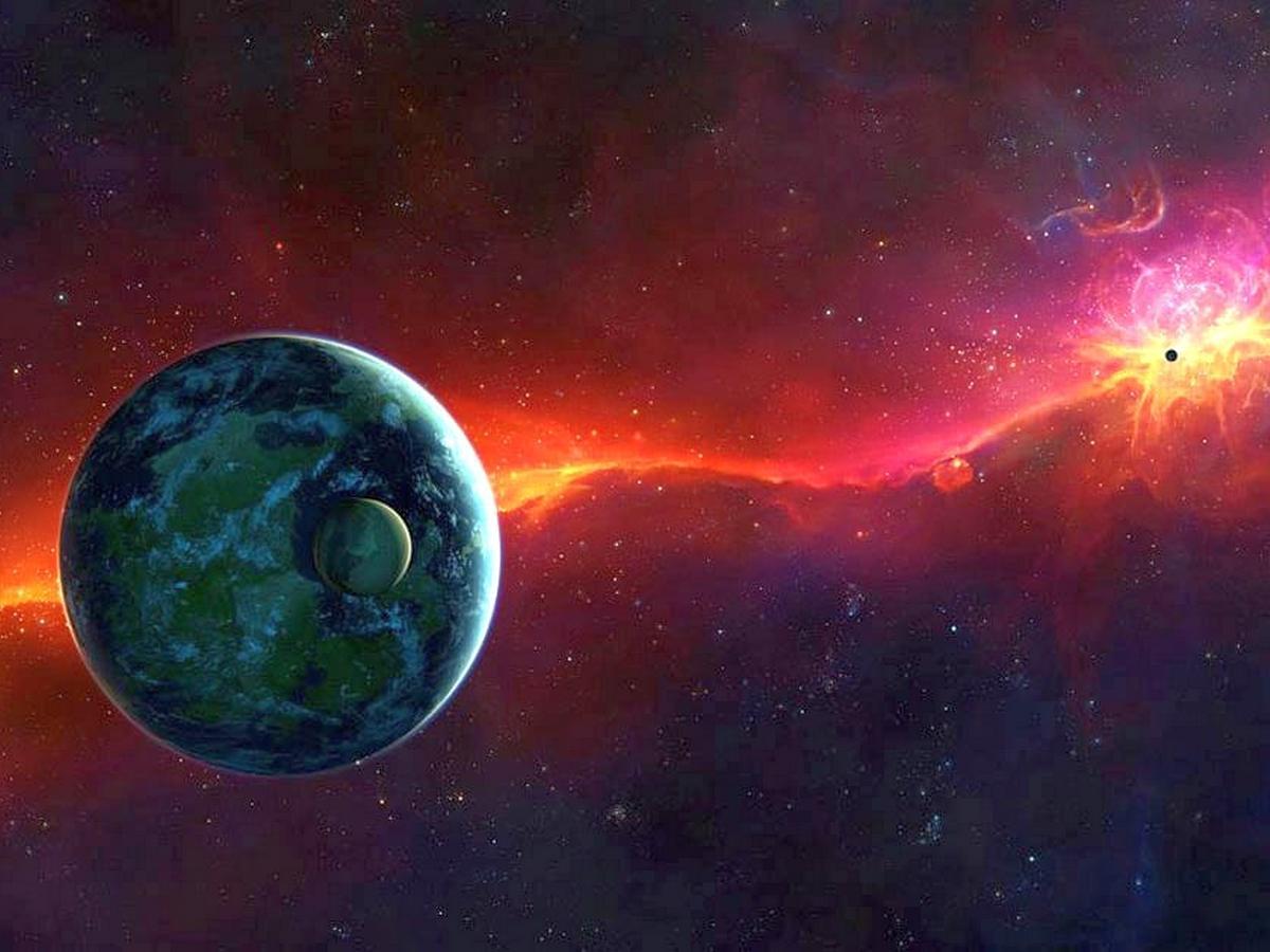 Видео, на котором показана эволюция Вселенной, собрало более 9 млн просмотров