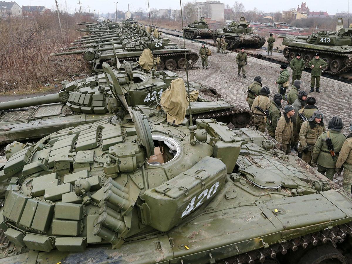 NYT: к границе с Украиной стянуто 4 тысяч военных РФ
