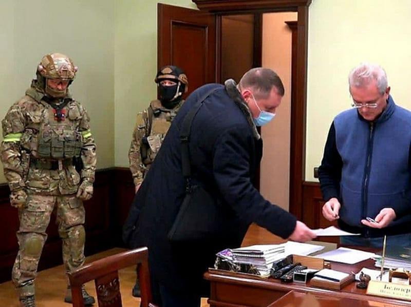 Губернатора Пензенской области Белозерцева задержали после обысков вместе с бывшим тестем Николая Баскова (ФОТО)