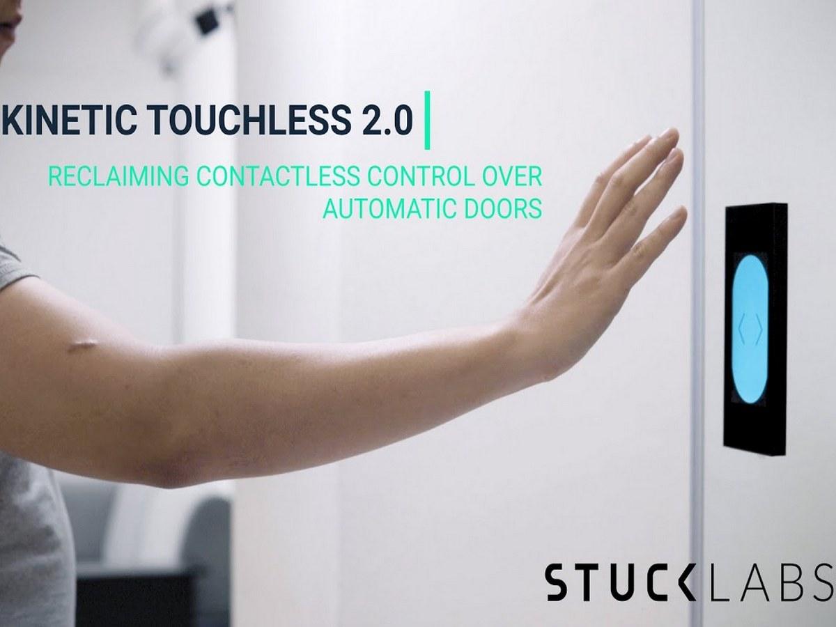 Видео с презентацией бесконтактной двери, которую можно открыть жестом, собрало около 20 тыс. просмотров