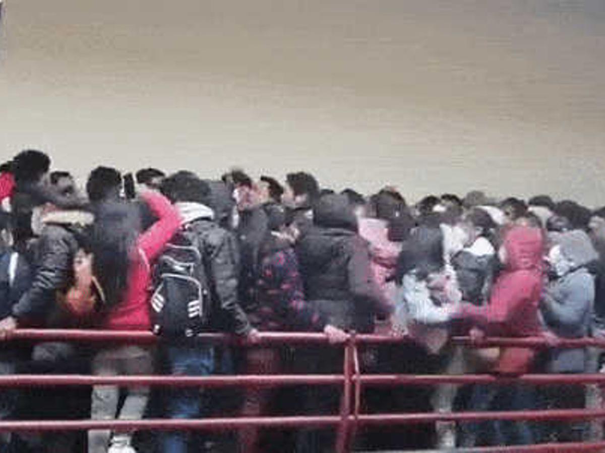Давка в университете Боливии