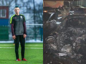 Автомобиль спортивного журналиста Егорова сожгли в Подмосковье