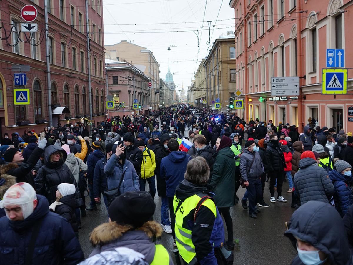 ФСБ нашла на протестах 90 тыс участников