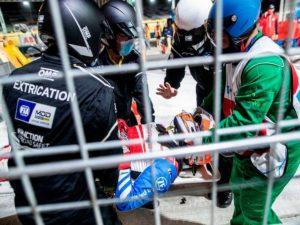 На Формуле-E в Саудовской Аравии едва не погиб пилот