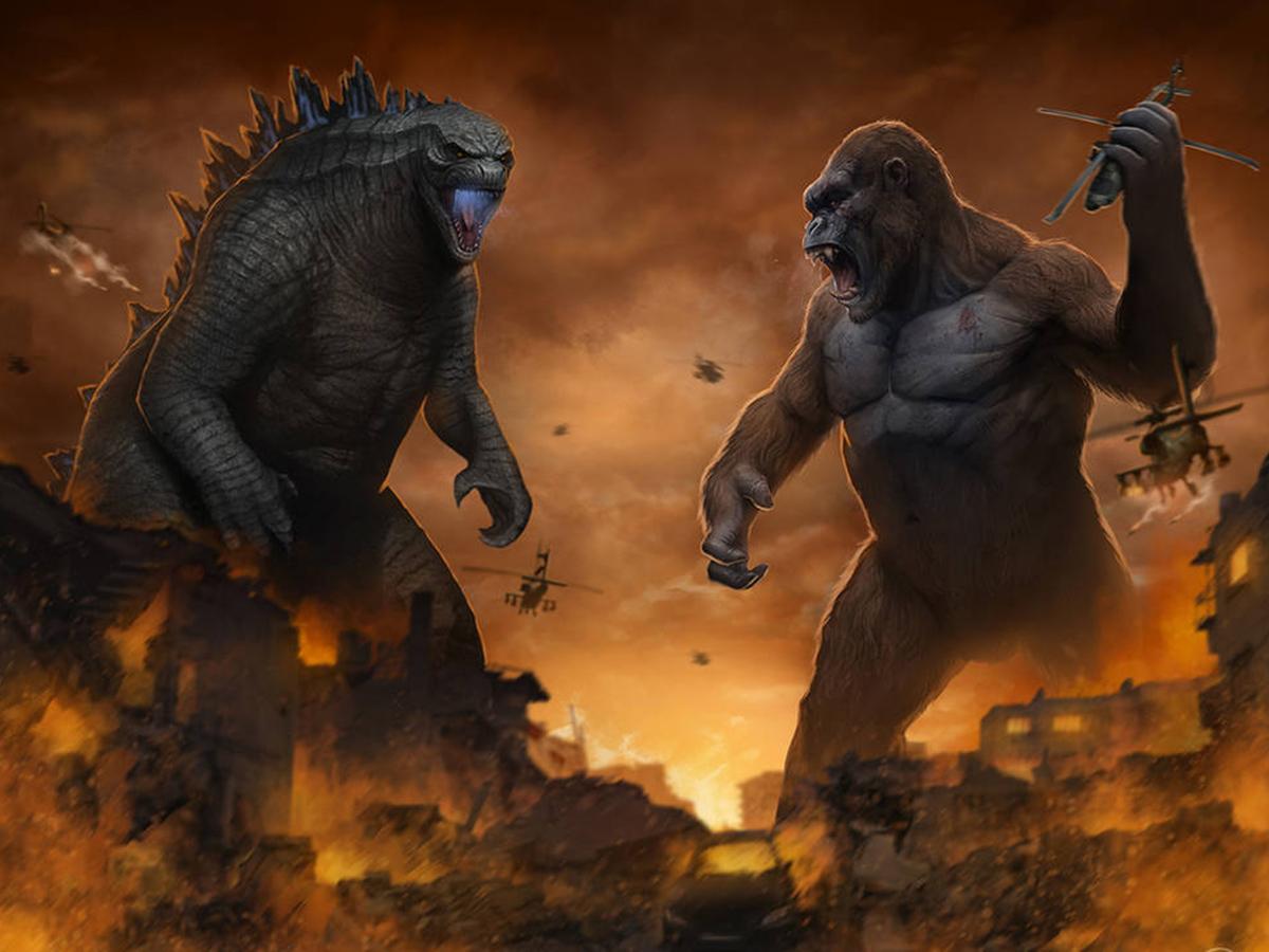 Годзила против Конга