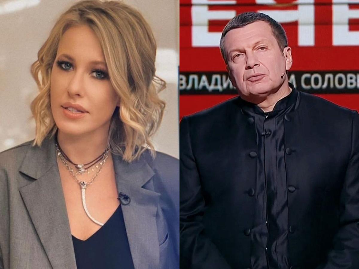 «Это хуже скажется на моей репутации»: оскорбленная Собчак унизила Соловьева