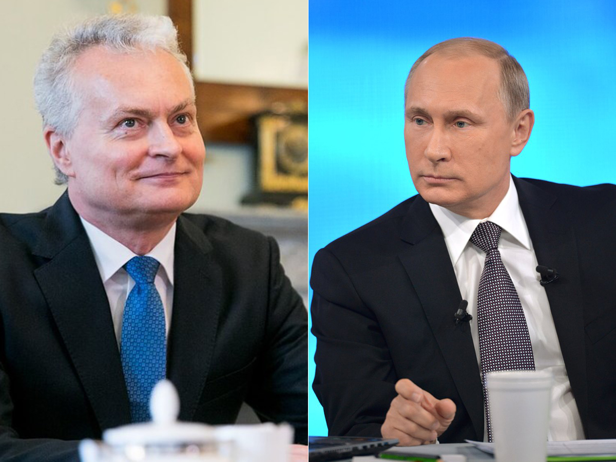 Гитанас Науседа Владимир Путин