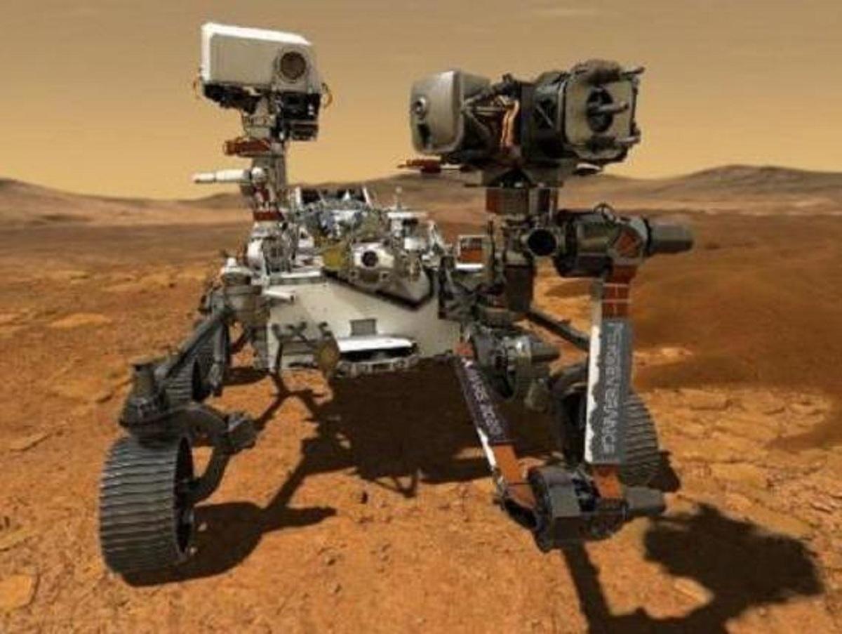 Марсоход Perseverance впервые записал сенсационные звуки на Марсе