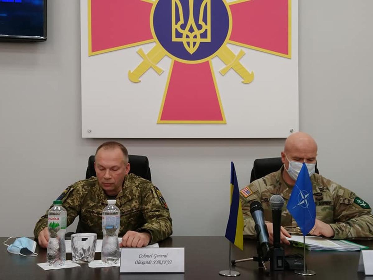 Командующий сухопутными войсками НАТО