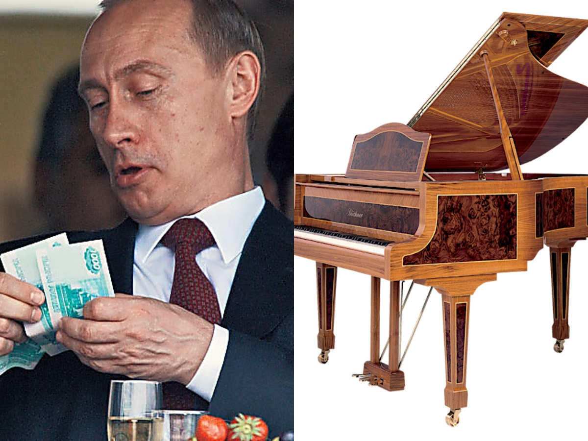 СМИ нашли еще одну «резиденцию Путина» с роялем за 6 млн рублей
