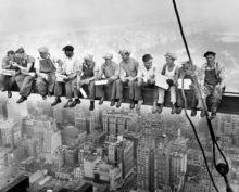 Обед на небоскребе
