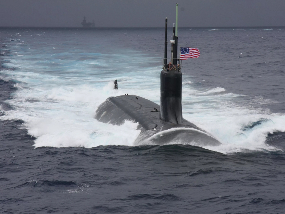 Подготовка к атаке подлодки США на корабли ВМФ РФ у берегов Сирии попала на видео (ВИДЕО)