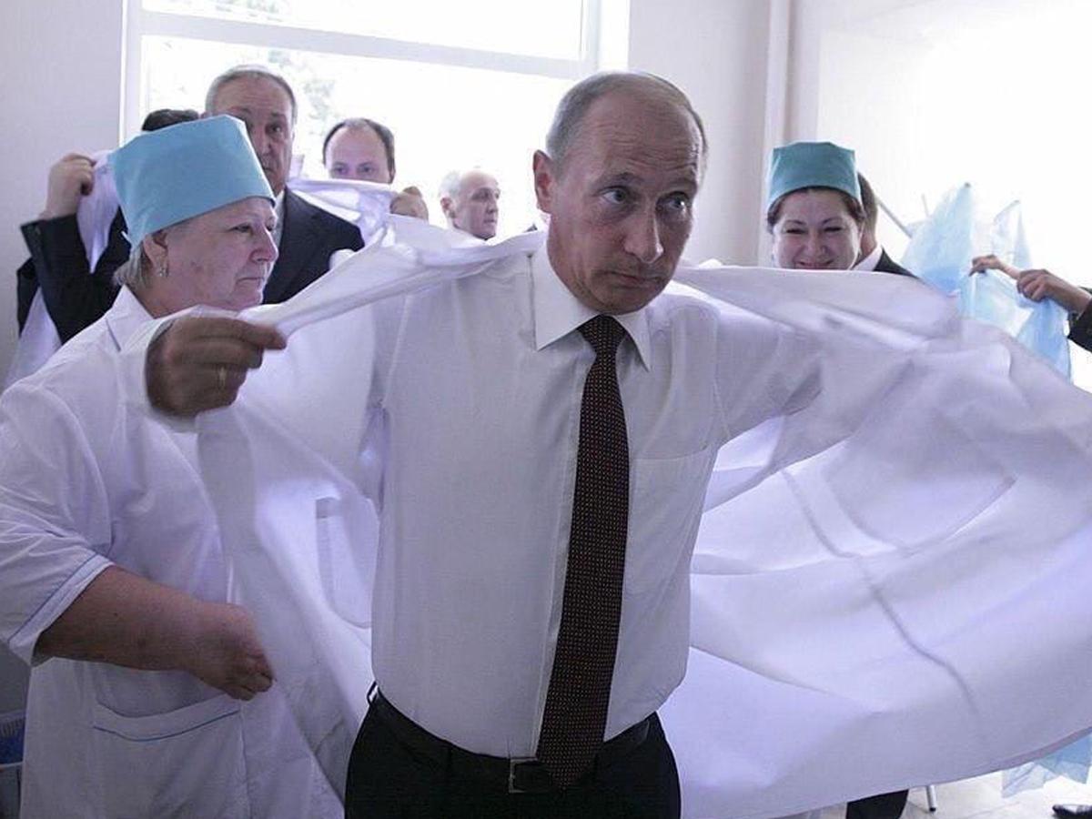 Путин о своей вакцинации