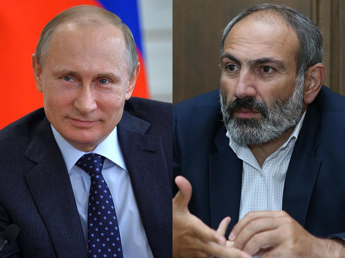 Путин Пашинян