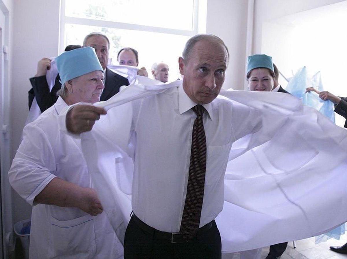 Путин вакцина от коронавируса
