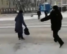 Разгон пешеходов Горно-Алтайск