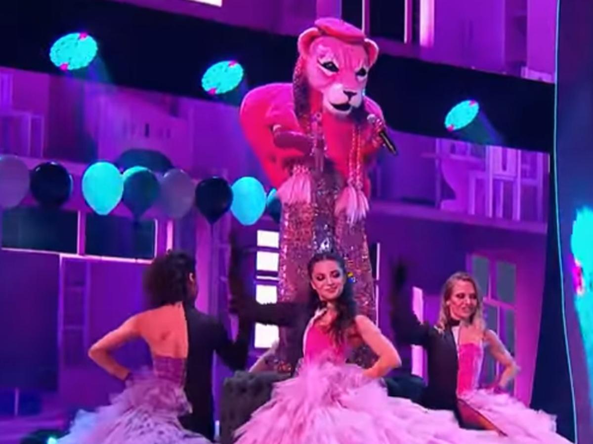 Маска Розовая пантера