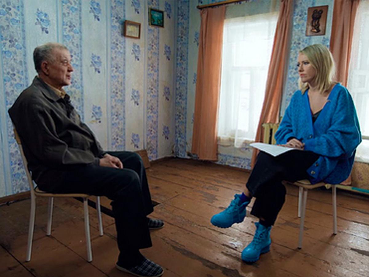 Интервью Собчак с Моховым