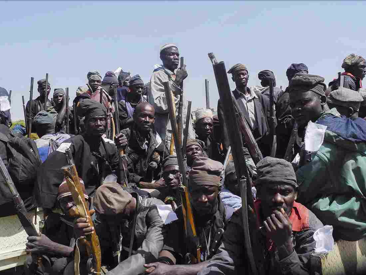 Террористы в Нигерии