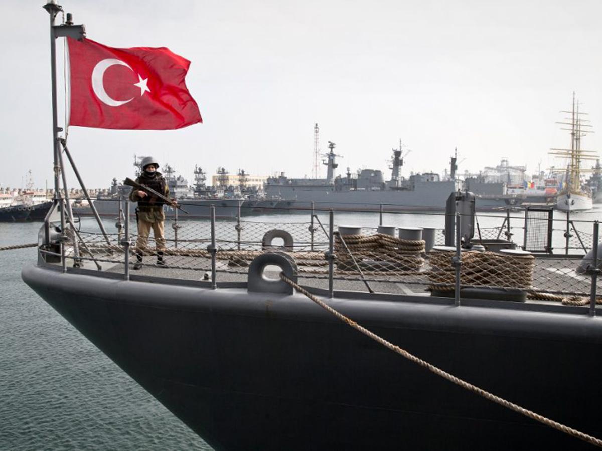 Военный флот Турция