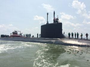 Подлодка USS John Warner