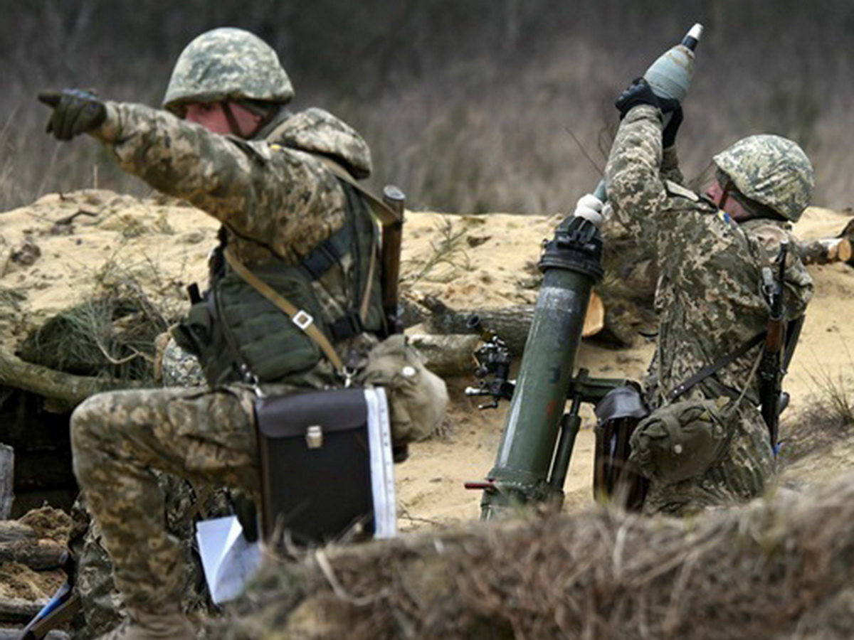 Обстрел Донбасса ВСУ