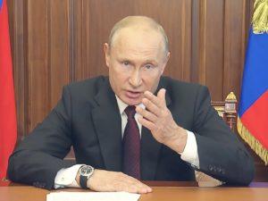 Путин обрушился с гневом на тех, кто использует детей в «хорьковых целях»