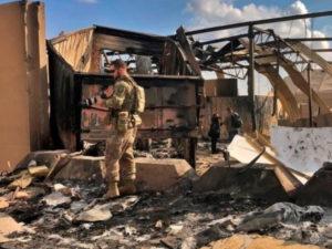 Военнослужащий США погиб от страха во время ракетного обстрела авиабазы в Ираке