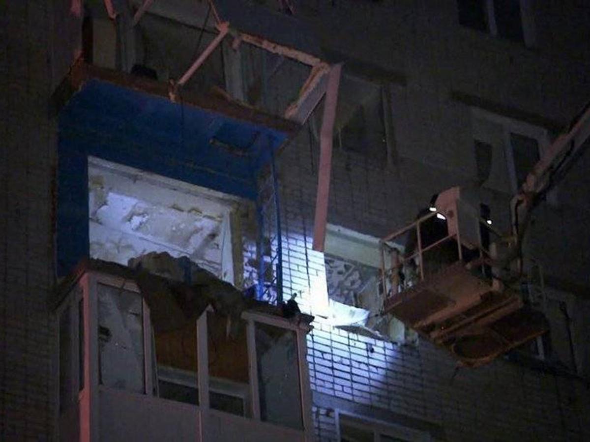 Взрыв в жилом доме в Татарстане